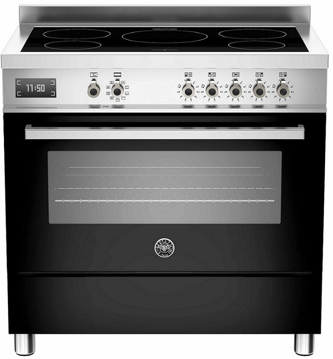 bertazzoni professional 90 cm induktion 1 ovn range cookers fra. Black Bedroom Furniture Sets. Home Design Ideas